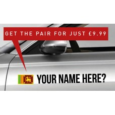 Sri Lanka Rally Tag £9.99 for both sides