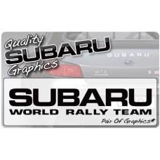 Subaru World Rally Team (pair)