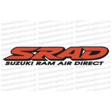 Bike Decal (Pair of) Suzuki 16