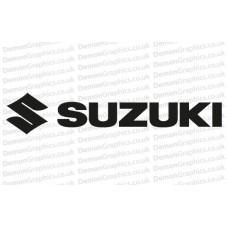 Bike Decal (Pair of) Suzuki 1