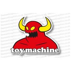 Toy Machine Skateboards Sticker