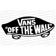 Vans Off The Wall Sticker (Pair)