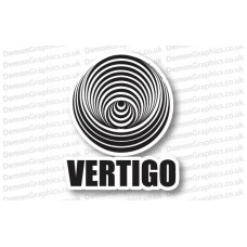 Vertigo Records Sticker