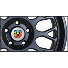 Abarth Wheel Badges (Set of 4)