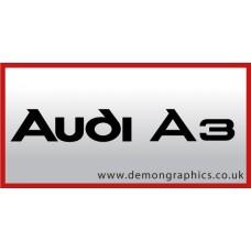 Audi A3 Vinyl Sticker