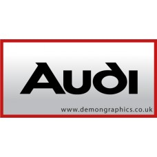 Audi Badge Vinyl Sticker