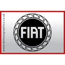 Fiat Badge Vinyl Sticker