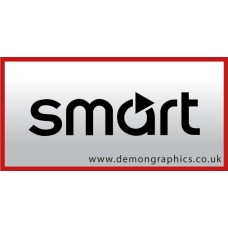 Smart Badge Vinyl Sticker