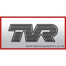 TVR Badge Vinyl Sticker