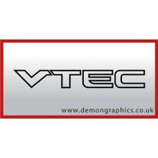 Honda VTEC Vinyl Sticker