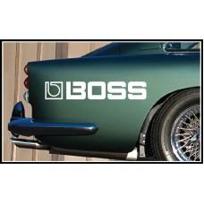 Boss Vinyl Sticker