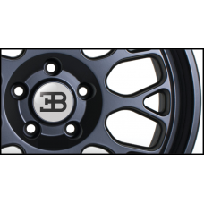 Bugatti Wheel Badges (Set of 4)