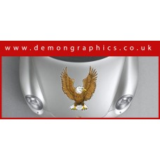 Bonnet Sticker - Eagle