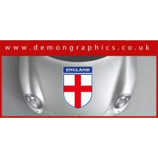 Bonnet Sticker - England Shield