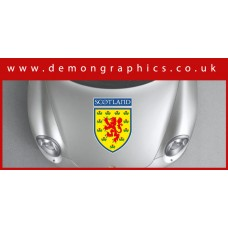 Bonnet Sticker - Scotland Shield