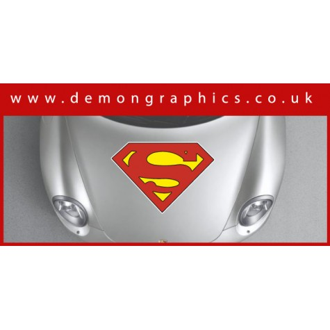 Bonnet Sticker - Superman