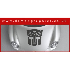Bonnet Sticker - Transformers Autobots