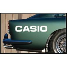Casio Vinyl Sticker
