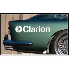 Clarion Vinyl Sticker