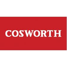 Old Skool Classic Vinyl Sticker: Cosworth