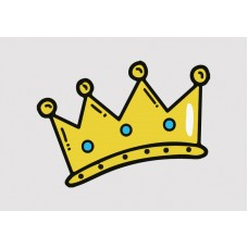 Crown Vinyl Sticker