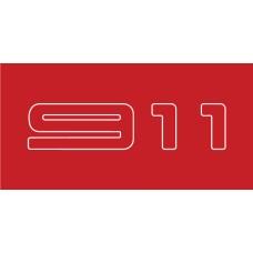 Old Skool Classic Sticker: 911 (Pair)