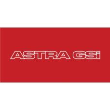 Old Skool Classic Vinyl Sticker: Astra GSI