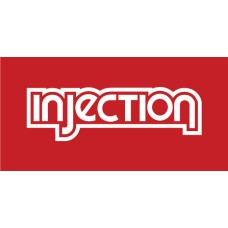 Old Skool Classic Vinyl Sticker: Injection