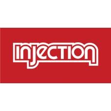 Old Skool Classic Vinyl Sticker: Injection
