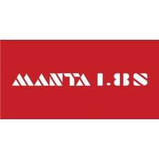 Old Skool Classic Vinyl Sticker: Manta 1.8 S