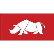 Old Skool Classic Sticker: suzuki rhino (Pair)