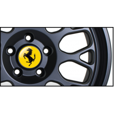 Ferrari Wheel Badges (Set of 4)