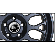 Fiat Wheel Badges (Set of 4)