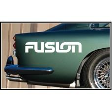 Fusion Vinyl Sticker