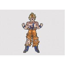 Super Saiyan Goku Vinyl Sticker
