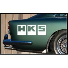 HKS Vinyl Sticker