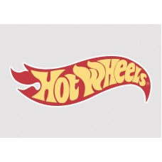 Hot Wheels Vinyl Sticker