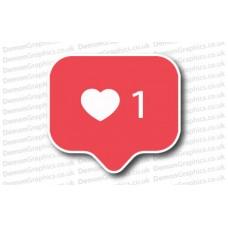 Instagram Like Button Sticker