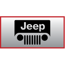 Jeep Grill Vinyl Sticker