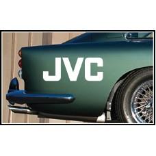 JVC Vinyl Sticker