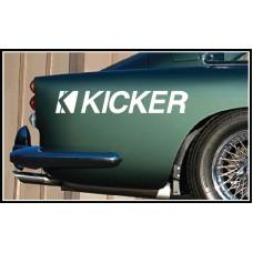 Kicker Vinyl Sticker