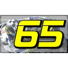 Racing Numbers Loris Capirossi