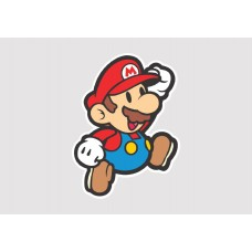 Super Mario Vinyl Sticker