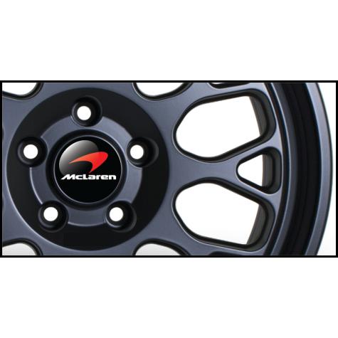 Mclaren Wheel Badges (Set of 4)