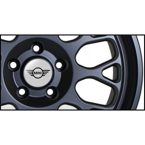 Mini Wheel Badges (Set of 4)