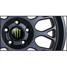 Monster Wheel Badges (Set of 4)
