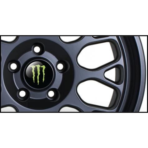 Monster Wheel Badges (Set of 4)