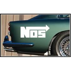 NOS Vinyl Sticker