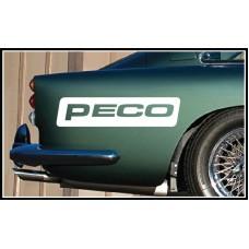 Peco Vinyl Sticker