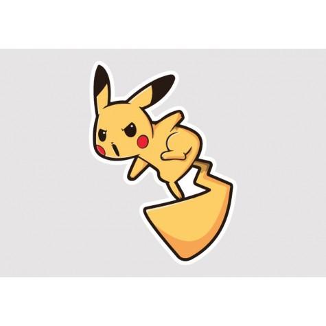 Pikachu Vinyl Sticker